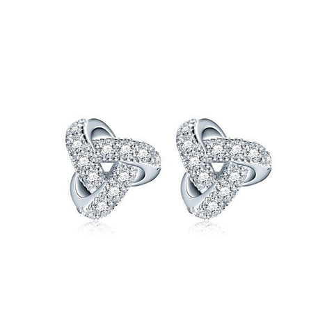 Chic Knot Stud Earrings