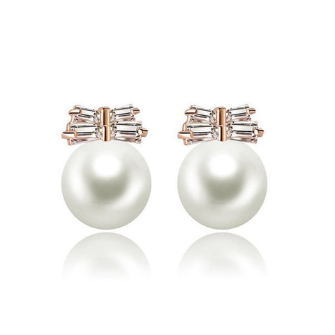 Beautiful Life Pearl Stud Earrings - VivereRosse
