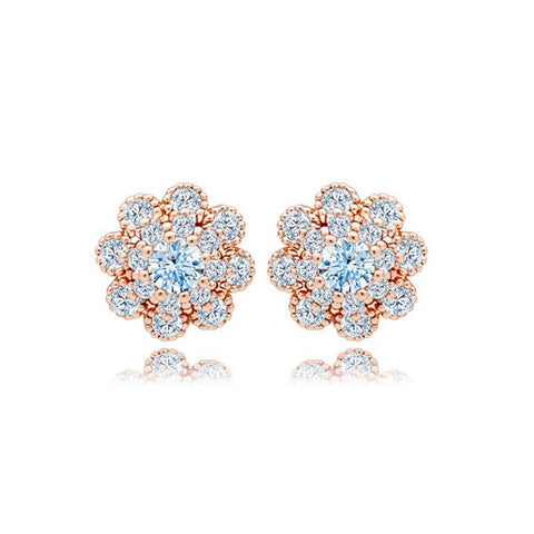 Earrings For Women (Classy) For Sale- Aster Stud - Vivere Rosse