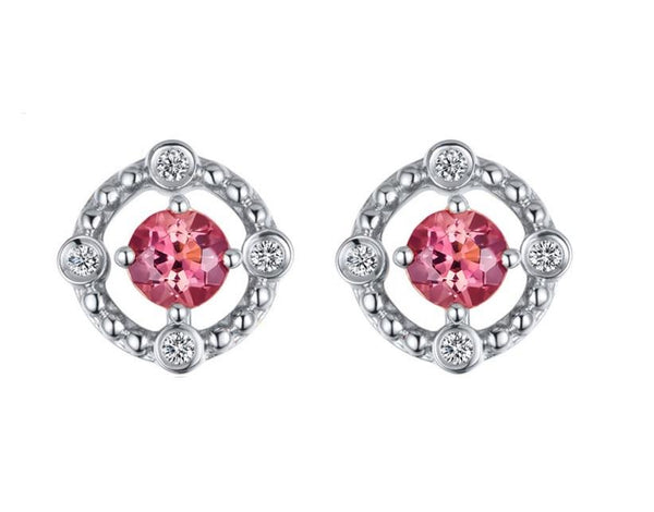 Grapefruit Shine Multiway Stud Earrings