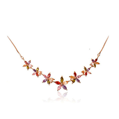 Summer Flowers Necklace