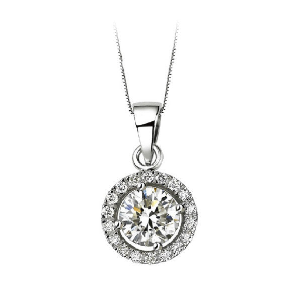 Sona Solitaire Necklace