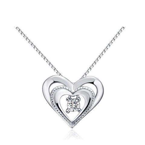 Dancing Heart Necklace - VivereRosse