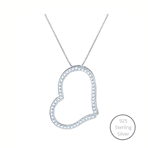 Aimee Heart Necklace