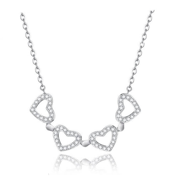 Quart Heart Necklace