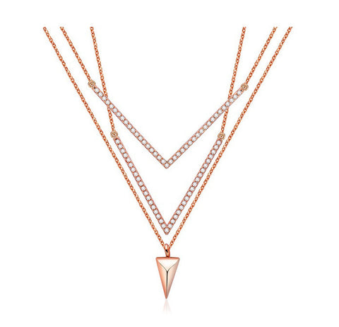 Prism Luck layered Necklace