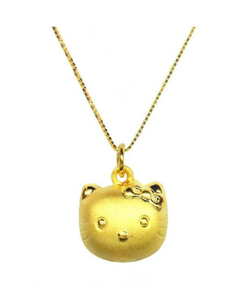 Golden Kitty Necklace
