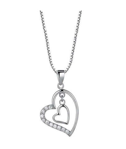 Te Amo Hearts Necklace