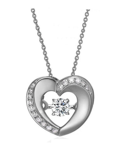 Shine Bright Heart Necklace
