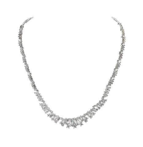 18K White Gold / Gold Plated Alloy - Necklace
