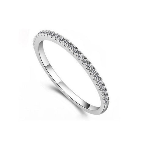 Eternity Half Band Ring