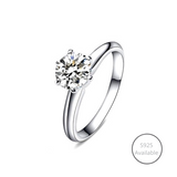 Classic Six Prong Solitaire Ring