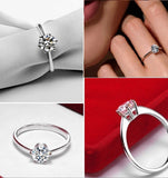 Classic Six Prong Solitaire Ring - VivereRosse
