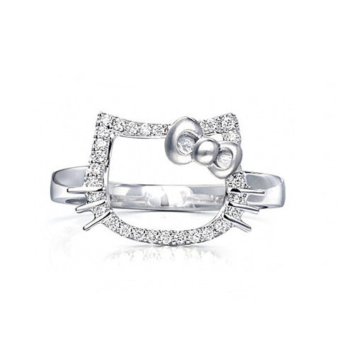 Hello Kitty Adjustable Ring