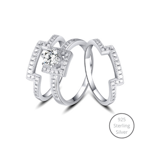 Cherish You Stack Ring Set