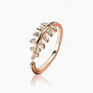 Pine Crest Ring - Rose Gold