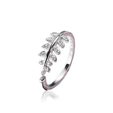 Pine Crest Ring - Silver