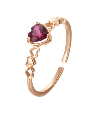 Ruby Love Ring