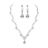 Modern Lady Luxury Bridal Jewelry Set