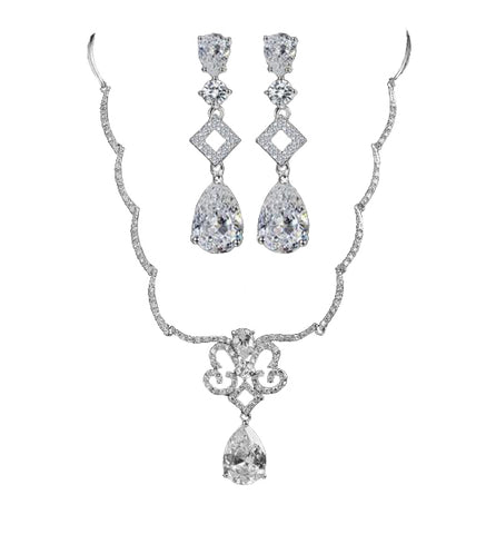 Splendid Luxury Bridal Jewelry Set