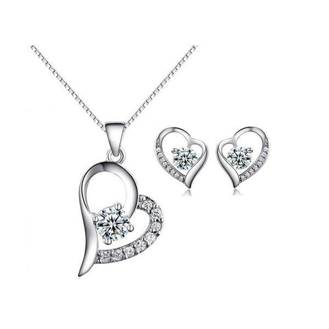 Tender Heart Jewelry Set