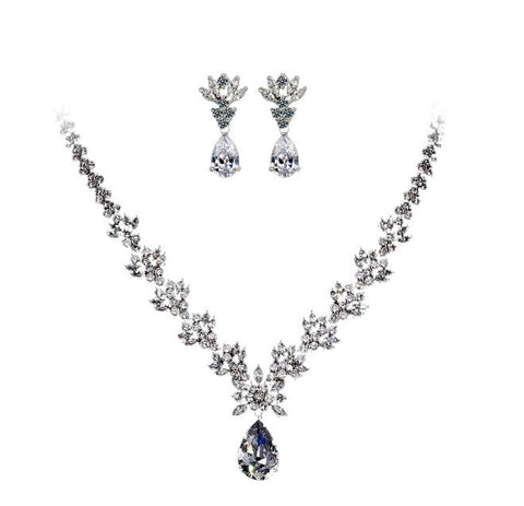 (Pre-Order) Brilliant Luxury Jewelry Set / Bridal Set