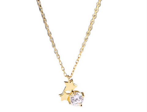 Stars in Your Eye Necklace