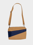 THE NEW BUM BAG M camel & navy