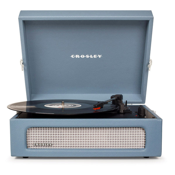 Crosley Voyager - Tragbarer Bluetooth-Plattenspieler washed blue