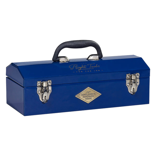 Metal Tool Box Navy