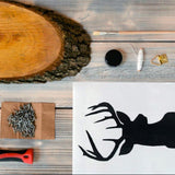 "DIY-Box ""Hirsch in String Art Optik"""