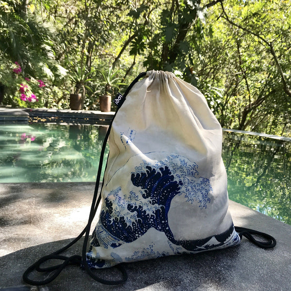 "Backpack ""Hokusai / The Great Wave"""
