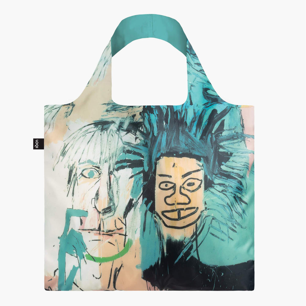Shopper JEAN MICHEL BASQUIAT WARHOL BAG
