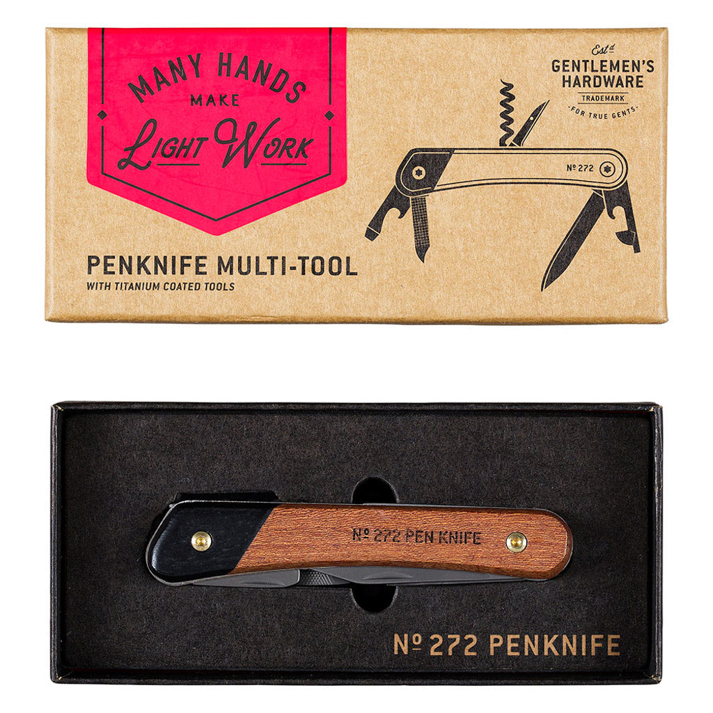 Multifunktions-Taschenmesser MULTI-TOOL PEN KNIFE