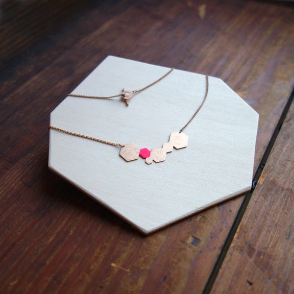 Collier Hexagon