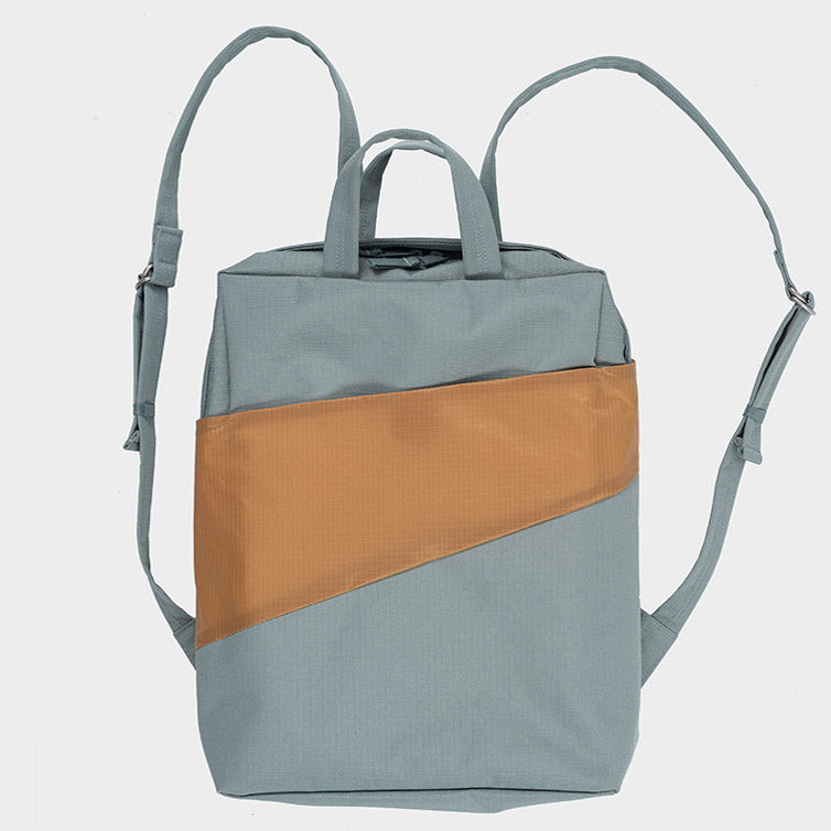 Rucksack THE NEW BACKPACK grey/camel