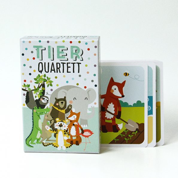 Tier-Quartett