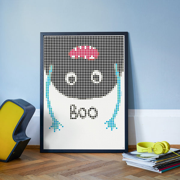 DIY Klebeposter DOT ON ART BOO