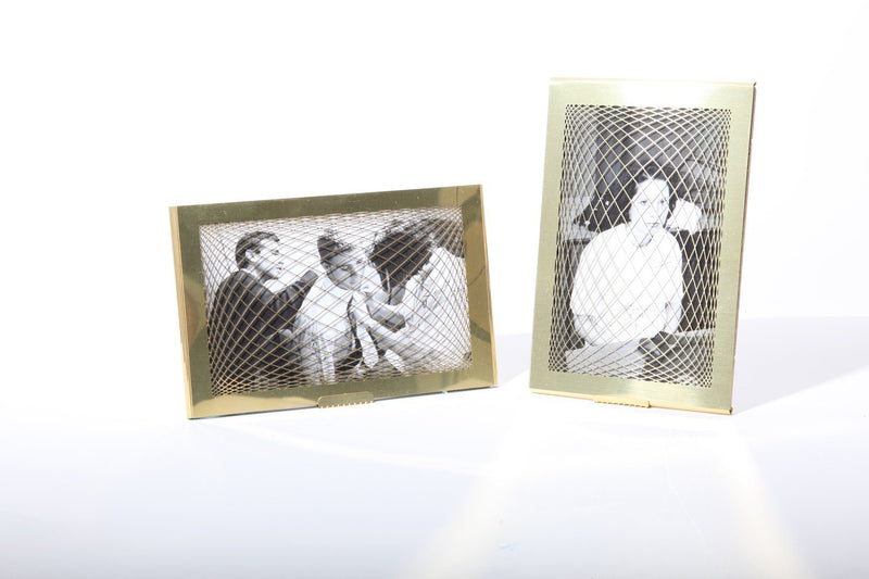Bilderrahmen aus Messing RAUTEN PHOTO FRAME