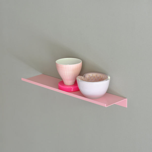 Regal Z SHELF rose Wandregal Ablage