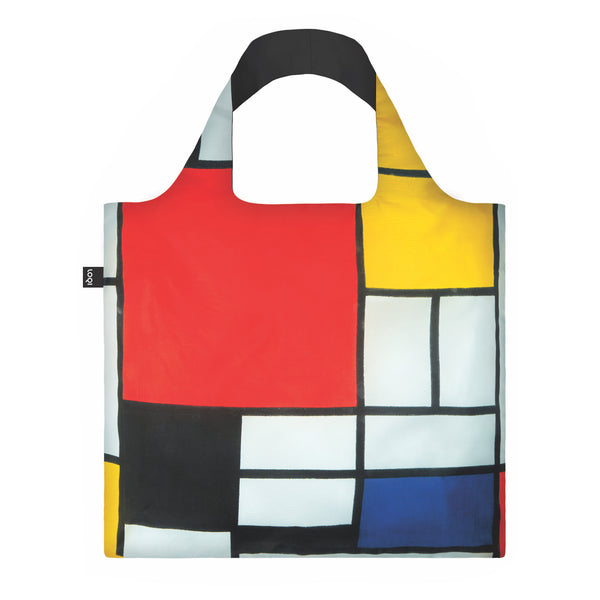 "Shopper ""Piet Mondrian / Composition Red, Yellow, Blue & Black"""