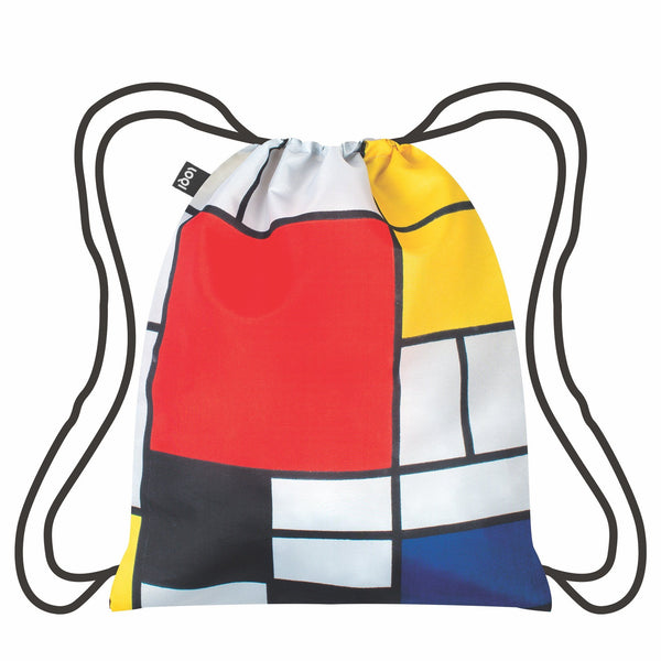 "Backpack ""Piet Mondrian / Composition Red, Yellow, Blue & Black"""