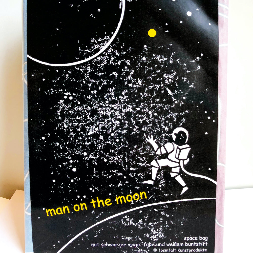 Space Bag MAN ON THE MOON (Jahre 5+)