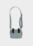 THE NEW BUM BAG M grey & camel