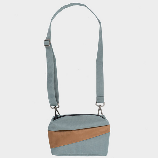 THE NEW BUM BAG S grey & camel
