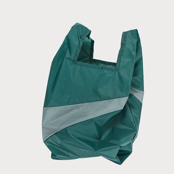 SHOPPINGBAG L pine/grey