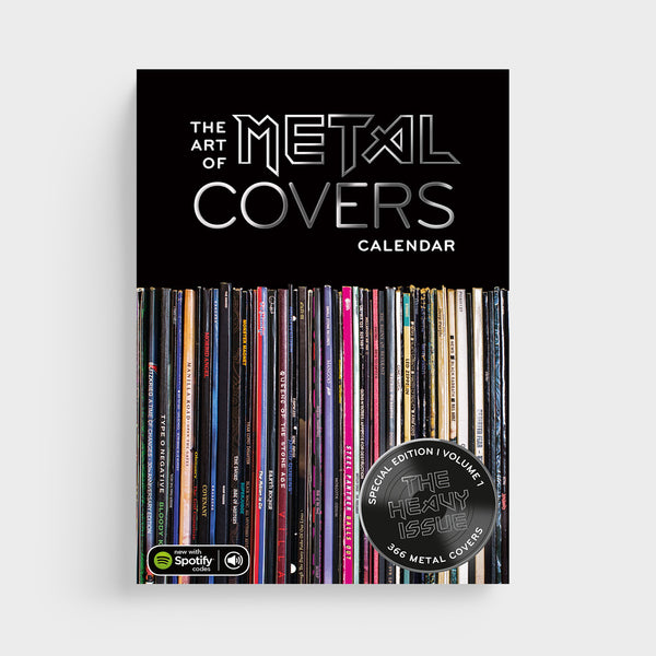 Abreißkalender THE ART OF METAL COVERS