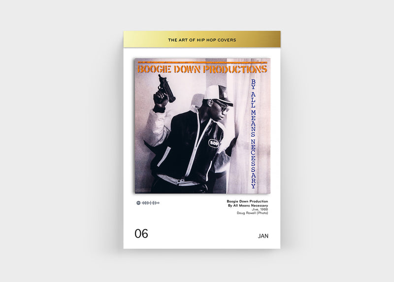 Abreißkalender THE ART OF HIP HOP COVERS