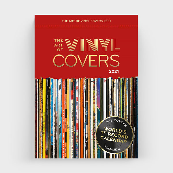 Abreißkalender THE ART OF VINYL COVERS 2021