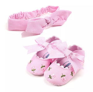 Shoe & Headband Set 1 (3 colours)